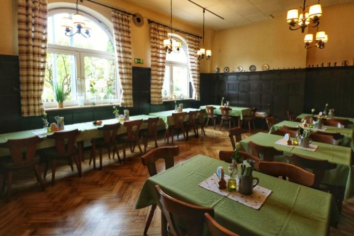 Gaststätte Freiland - Nebenraum zum Hof