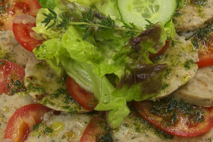 Gaststätte Freiland - Knödelcarpacchio
