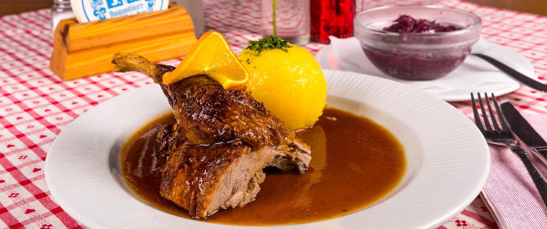 Speisekarte Gaststätte Freiland - Ente