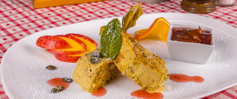 Speisekarte Dessert, Gaststätte Freiland